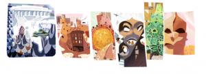 doodle google gaudí 2013