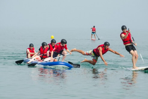 Mediterranean Challenge: beach games
