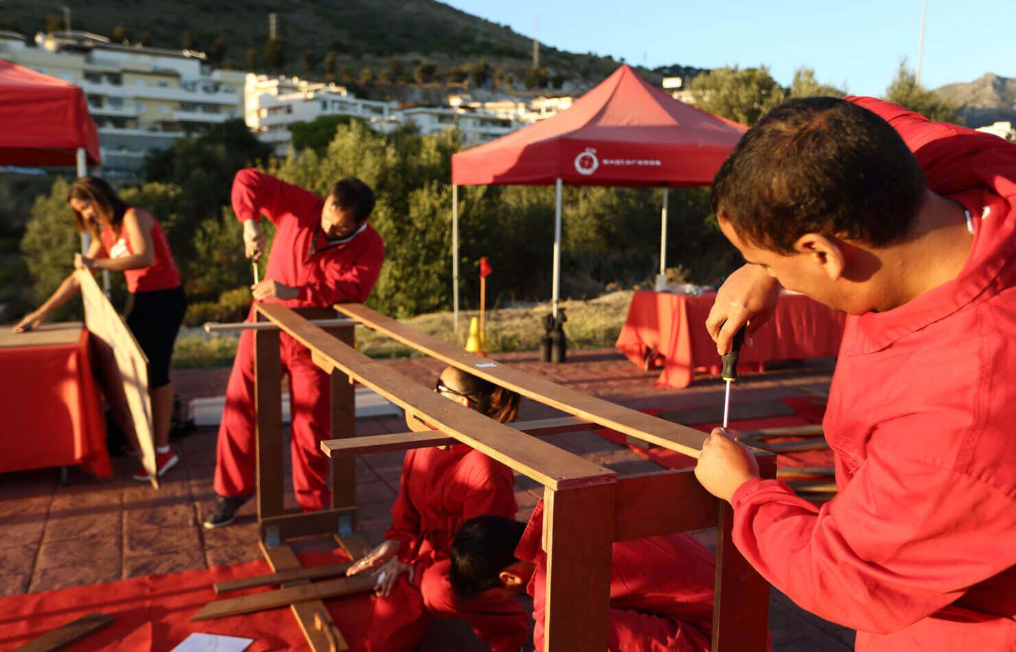 formula one team building activity