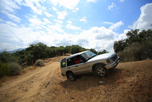 Gymkhana in Ronda | Bandits in southern Europe | Route 4x4 Ronda