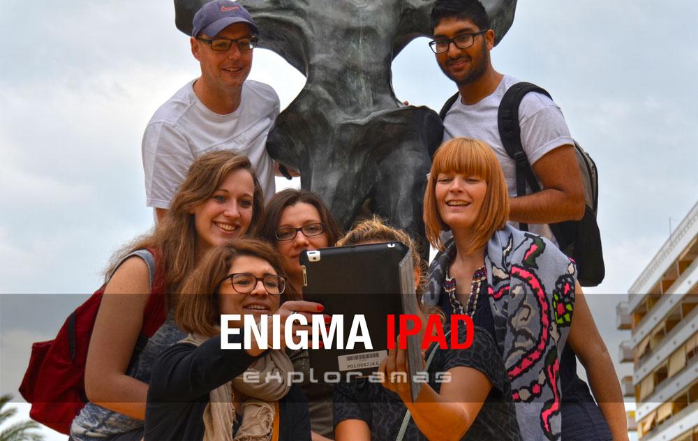 enigma iPad ghymkana iPad Marbella Exploramas