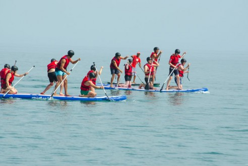 Big Paddle Surf: great team building in SUP