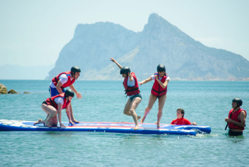 Big Paddle Surf | SUP Team Building a lo grande