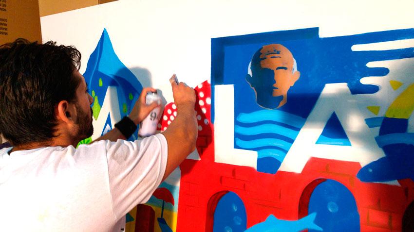 graffiti-exploramas-actividades-para-convenciones-de-empresa