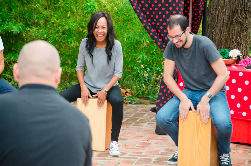 percusion-flamenca-exploramas-actividades-para-convenciones-de-empresa