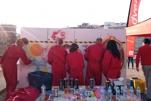Team building con graffiti: Street Art Experience