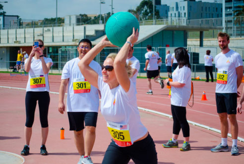 Olympic Games: team building deportivo