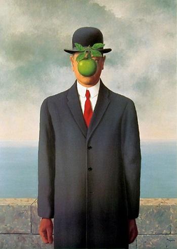Filho do Homem, de Magritte