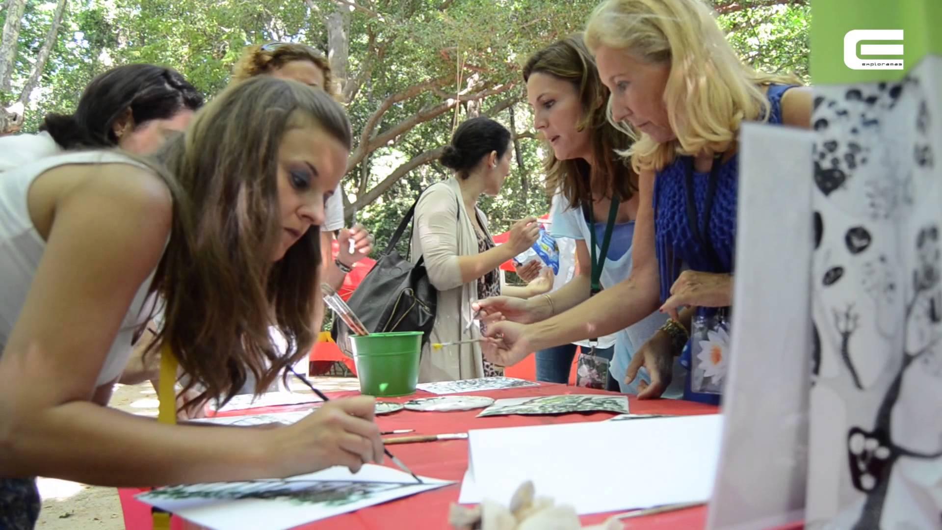 fam trip 5 exploramas jardin la concepcion malaga octubre 2012