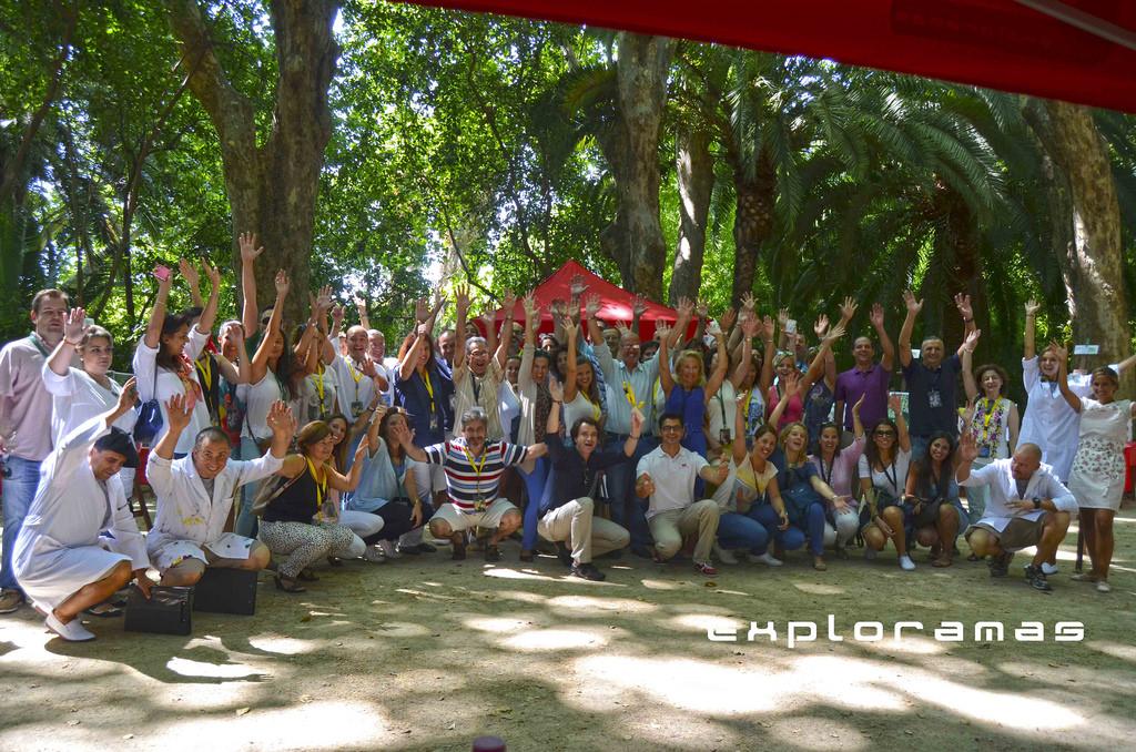 fam trip 2 exploramas jardin la concepcion malaga octubre 2012