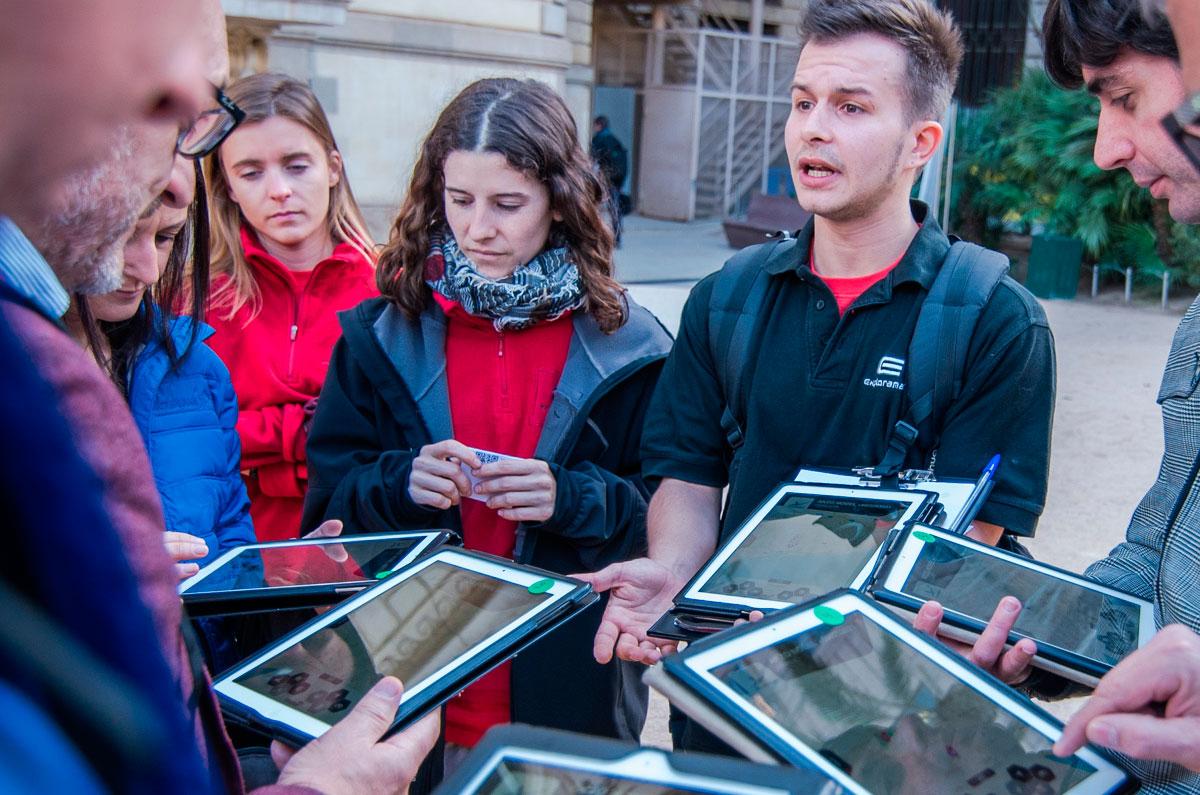 enigma-ipad-barcelona-exploradores