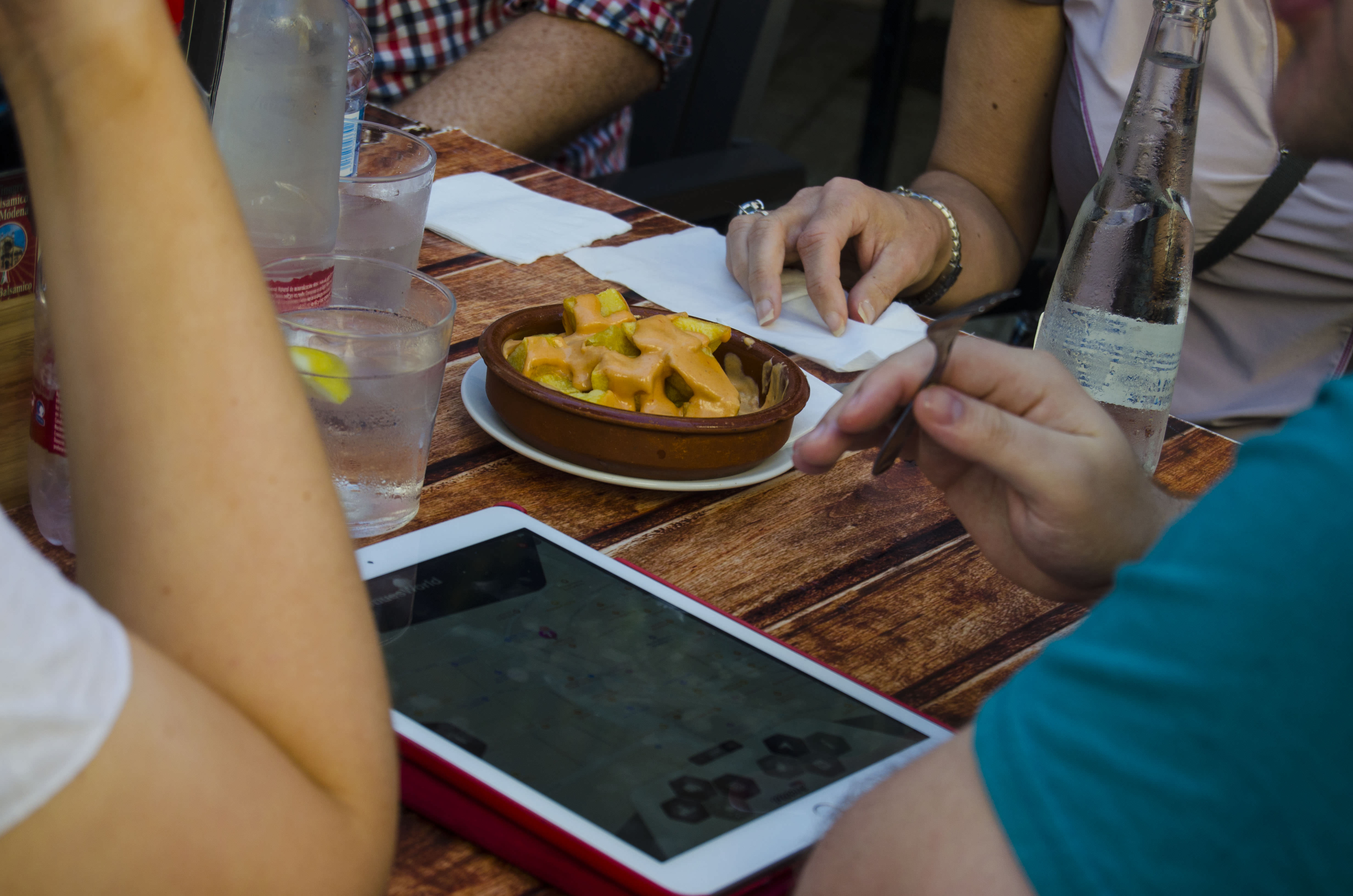 masterchof gourmet ipad experience