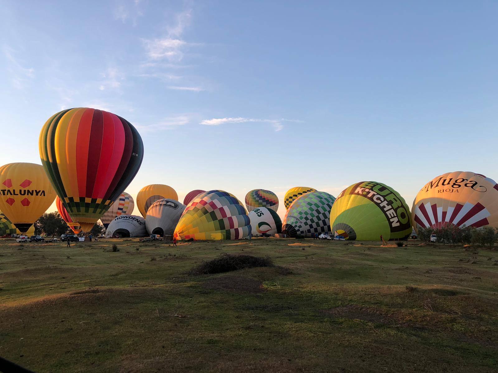 globos aerostaticos team building sevilla