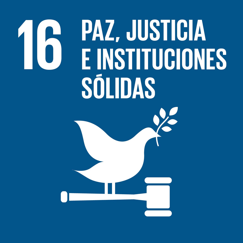 ODS 16 Paz Justicia e Instituciones solidas