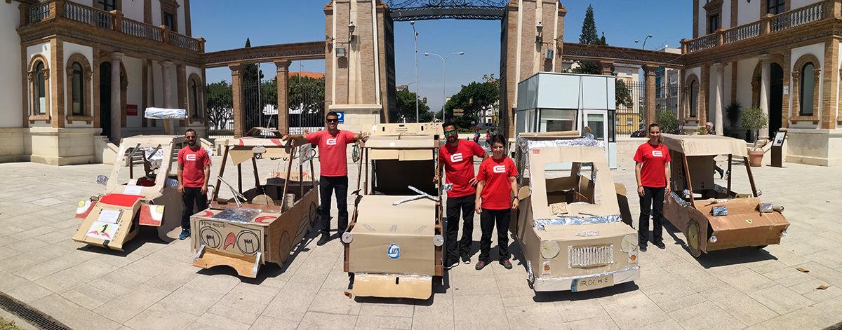 team building construccion de formula uno en malaga